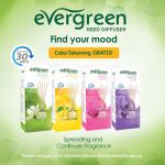 Free Sample Evergreen Reed Diffuser
