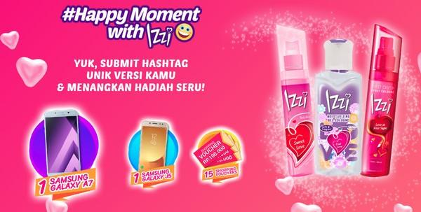 Happy Moment With Izzi