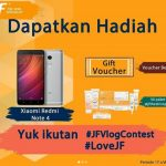 Love JF vlog contest