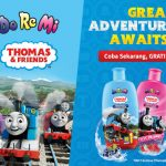 Sample Gratis Doremi Thomas And Friends Shampoo & Conditioner