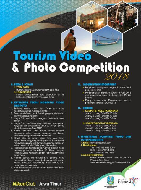 Image result for Tourism Photography And Video Competition 2018