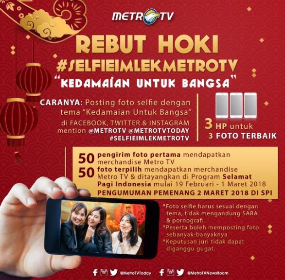 Selfie Imlek MetroTV