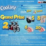 Promo Coolant x Alfamart Berhadiah 2 Yamaha Mio, 5 Fujifilm A-X10, 8 SAMSUNG J7 Prime, dll