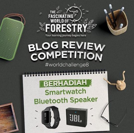 Lomba Blog Review World Of Forestry Berhadiah Smartwatch & Speaker JBL