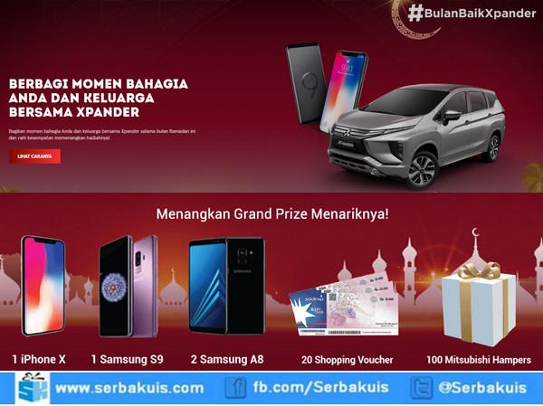 Lomba Foto Bersama Xpander Berhadiah iPhone, SAMSUNG A9 & A8