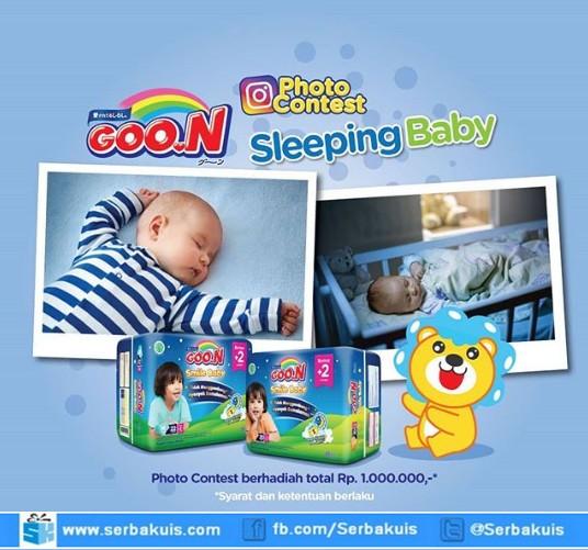 Lomba Foto Bayi Tidur Berhadiah Voucher Belanja Total 1 Juta