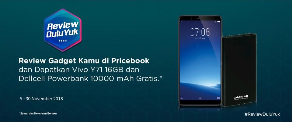 Lomba Review GadgetPricebook Berhadiah Smartphone dan Power Bank