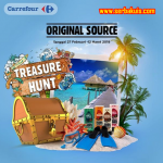 Treasure Hunt Original Source Carrefour Berhadiah 3 Trip Pulau Seribu