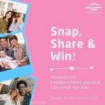 Snap, Share and Win Berhadiah Kamera dan Voucher Dari Electronic City Indonesia