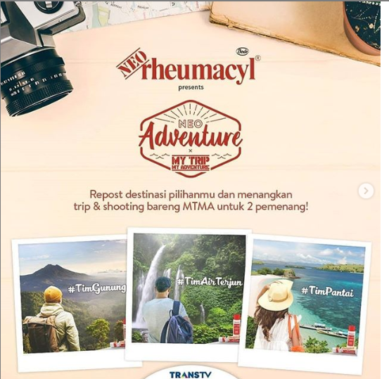 Kompetisi NEOadventure Berhadiah Nge-Trip Bareng My Trip