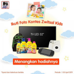 Kontes Foto Zwitsal Kids Superindo Berhadiah TV LED  32″, PSP, kamera