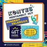 Kuis Repost HUT Penerbit Erlangga Berhadiah Voucher Ratusan Ribu Rupiah