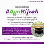 Lomba Blog Ayo Hijrah Berhadiah Umroh, Kamera, Smartphone & Tabungan