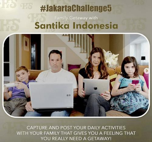 Lomba Foto Keluarga Berhadiah Voucher Menginap Hotel Santika Premiere Slipi Jakarta