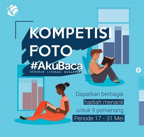 Kontes Foto Aku Baca di Instagram [31/05/2019]