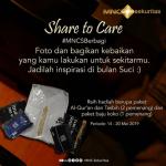 Kontes Foto Share To Care Berhadiah Al-Qur'an, Tasbih & Baju Koko