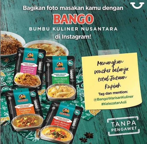 Lomba Foto Bango Bumbu Kuliner Nusantara Berhadiah Voucher