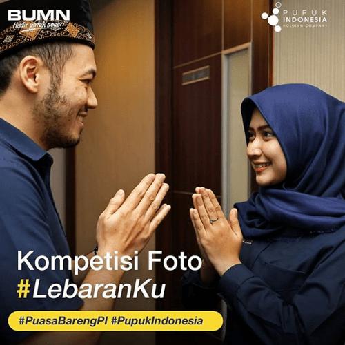Lomba Foto Lebaranku Berhadiah THR Jutaan Rupiah by Pupuk Indonesia