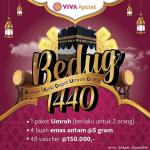 Promo Undian VIVA Apotek Berhadiah Umroh, Emas Antam & Voucher