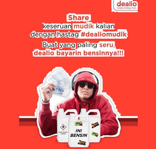 Share Foto Persiapan Mudik Berhadiah Uang Bensin Rp 300.000
