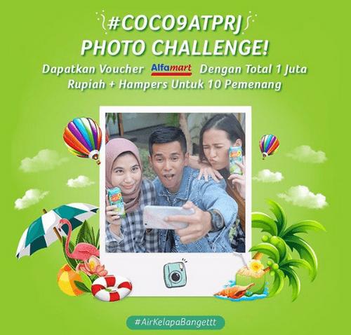 Kontes Foto Coco9 At PRJ Berhadiah Voucher Alfamart Total 1 Juta