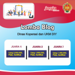 Lomba Blog Berhadiah Total 4,5 Juta Rupiah Dari Diskop UKM DIY