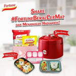 Fortune Bekal Cermat Berhadiah Rice Cooker, Hampers & Lunch Box