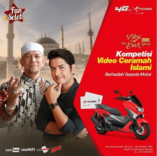 Kompetisi Video Ceramah Islami Berhadiah Yamaha N-Max [28/10/2019]