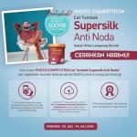 Kontes Cat Tembok Supersilk Anti Noda Berhadiah Voucher Belanja