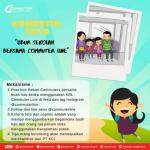 Kontes Foto Libur Sekolah Bersama Commuter Line Berhadiah Merchandise