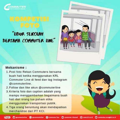 Kontes Foto Libur Sekolah Bersama Commuter Line [15/07/2019]