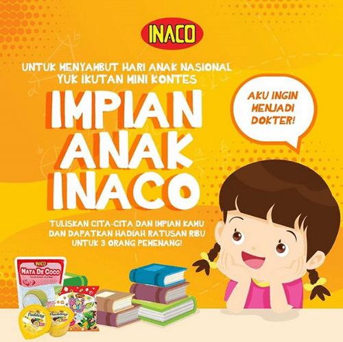 Kuis Impian Anak INACO Berhadiah [28/07/2019]