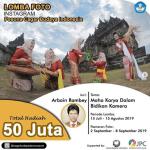 Lomba Foto Cagar Budaya Berhadiah Total 50 Juta Rupiah