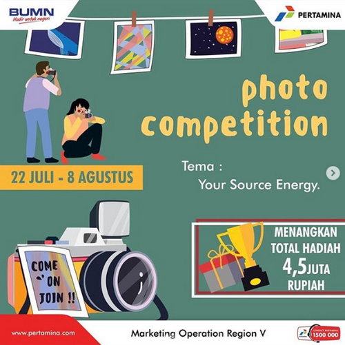 Lomba Foto Your Source Energy Pertamina [08/08/2019]