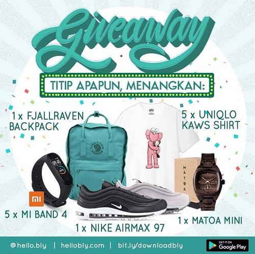 Giveaway Titip Apapun Berhadiah [05/08/2019]