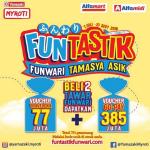 Promo Roti Tawar Funwari Berhadiah Voucher Traveloka & Gopay Ratusan Juta