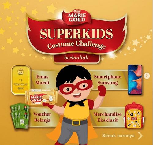 Promo Super Kids Costume Challenge