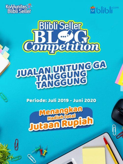 Blibli Seller Blog Competition Berhadiah Voucher Total 8 Juta Rupiah