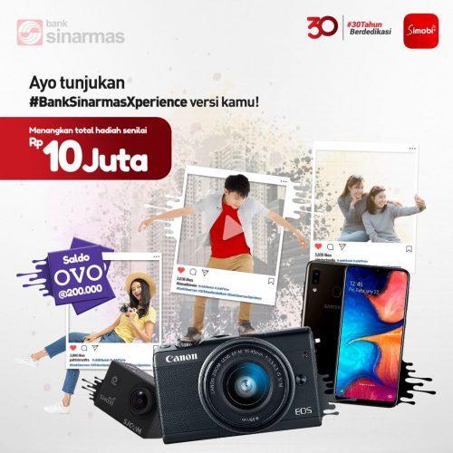 Kontes Foto/Video Bank Sinarmas Xperience Berhadiah Total Rp10juta!