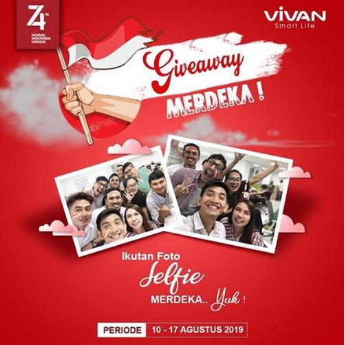 Ayo Ikutan Kontes Foto Selfie Merdeka Vivan Indonesia