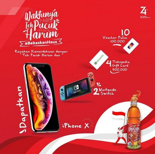 Kontes Foto Bebaskan Haus Berhadiah iPhone X, Nintendo Switch, dll