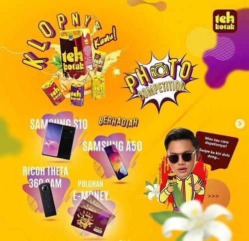 Kontes Foto Klopnya Kamu Teh Kotak Berhadiah SAMSUNG S10 & A50