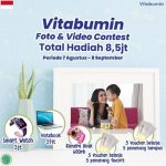Kontes Foto & Video Vitabumin Berhadiah Smartwatch, Notebook, dll