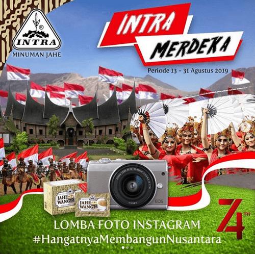 Lomba Foto Intra Merdeka Berhadiah Total Uang & Pulsa Jutaan Rupiah