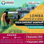 Lomba Foto & Video Jogja Darurat Sampah Berhadiah Jutaan Rupiah