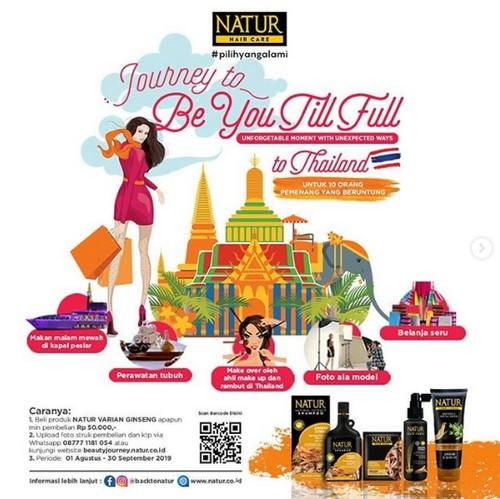 Promo Nature Hair Care Berhadiah Ke Thailand Naik Kapal Pesiar