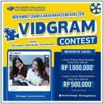 VidGram Contest Persiapan Memasuki Perkuliahan Berhadiah 2,5 Juta