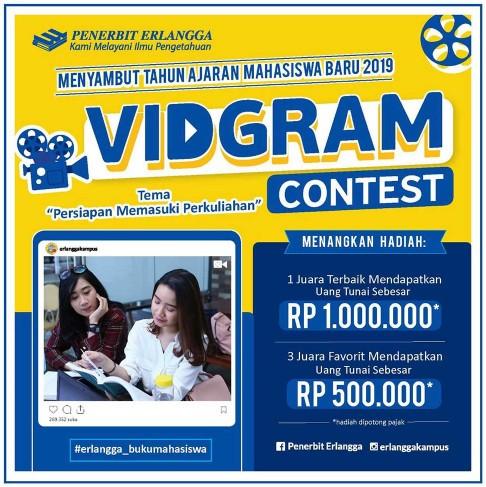 VidGram Contest Persiapan Memasuki Perkuliahan [30/09/2019]