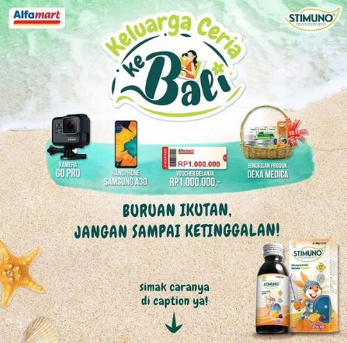Kontes Foto Ibu & Anak Stimuno Berhadiah GoPro, Samsung A30, dll