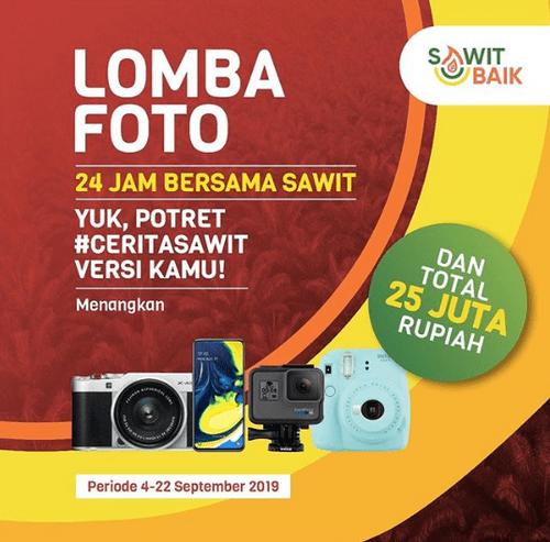 Lomba Foto Cerita Sawit Berhadiah Kamera, Smartphone & Uang 25 Juta